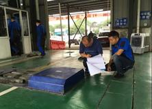 长沙市质监局天心分局深入开展车检机构专项检查