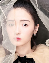 孙嘉琪最新写真大片 透明蓬纱裙半遮面甜美秀蛮腰