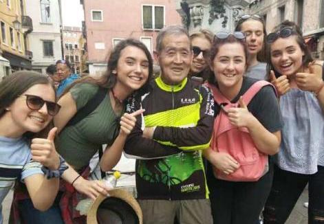 古稀老人11年骑行10万余公里