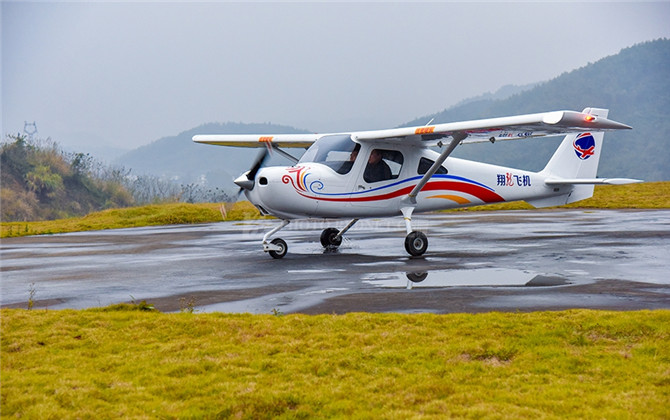 红图:湖南成功研制轻型运动类飞机