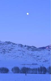 """""""额尔齐斯河第一村""""的冬天"""