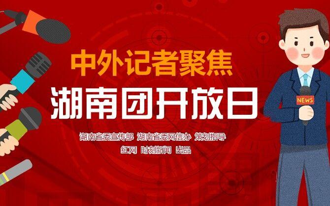 专题:中外记者聚焦湖南团开放日