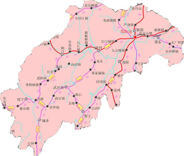 湖南风景点地图