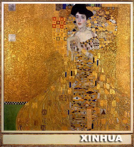 这幅奥地利著名画家古斯塔夫·克利姆特的作品日前以1.35亿高清图片