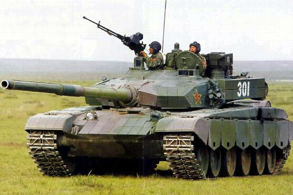 (中国陆军99式主战坦克)