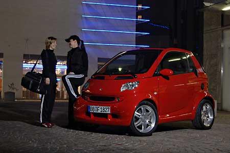 尽管改款在即,限量红色特仕车smart fortwo,仍要以 高清图片