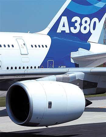 劳斯莱斯公司证实暂停空客A380发动机生产高清图片