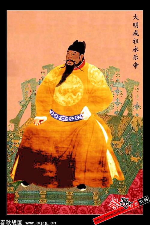 明朝历代皇帝画像_娱乐频道图片