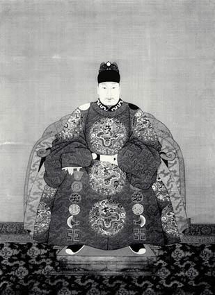 明朝历代皇帝画像图片