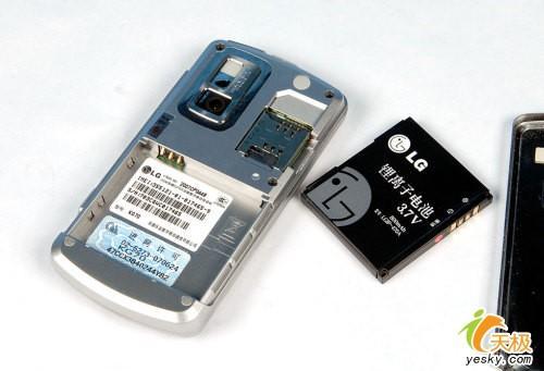 夺目光芒 LG金属镜面滑盖机KG70评测