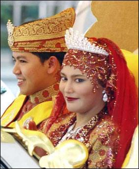 文莱公主_文莱王室公主王子图_文莱公主哈菲
