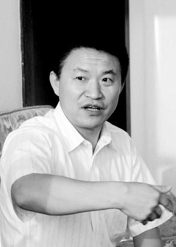 """徐立华:""""波导将从长沙起飞""""。记者 刘艳 摄"""
