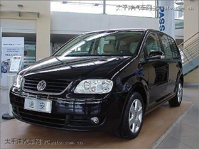 ,上海大众一直在做1.6l fsi途安车型的匹配测试,但是在国产大众高清图片