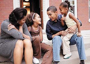 你没见过的奥巴马:把老师发展成老婆(组图)
