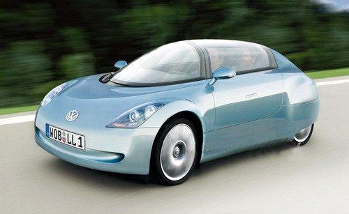 百公里油耗仅1升 大众l1概念车即将量产