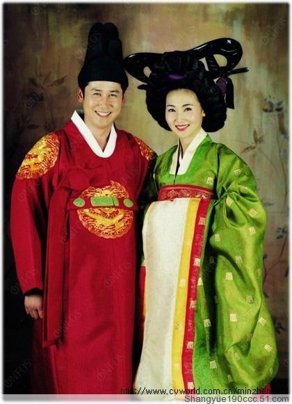 传统韩服图片