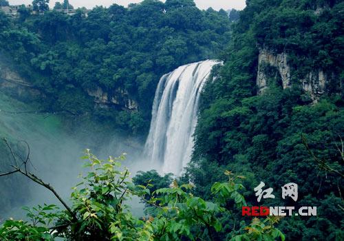 实拍贵州黄果树大瀑布奇观 高清图片