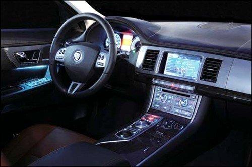 穿prada的美洲豹 摩纳哥试全新捷豹xf 汽车之家高清图片
