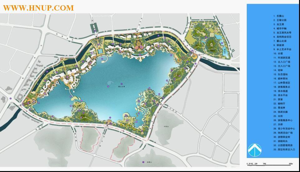 杭州西湖平面图