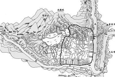 扬州风景手绘图