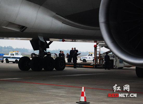 大飞机黄花机场成功试飞 长沙将可直飞欧美(图)