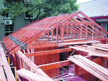 竹结构别墅能抗8级地震 施工就像搭积木一样(图)