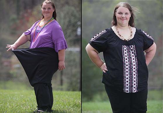 英最胖女孩减168斤组图