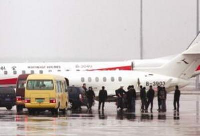 号小型航班将于15时许在烟台起飞,并于16时15分在沈阳桃仙机场降落.