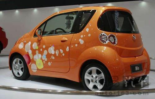电动车   海马并联纯电动轿车mpe在传统的纯电动汽车技术基高清图片