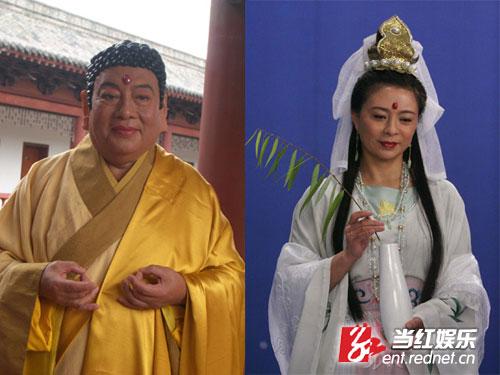 原版西游记如来的扮演者朱广龙再次出演