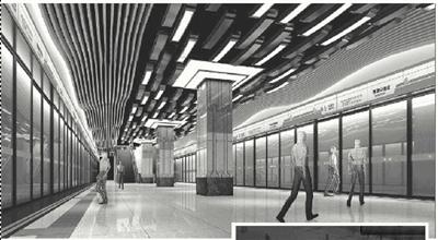 地铁2号线公共区装修请你来设计