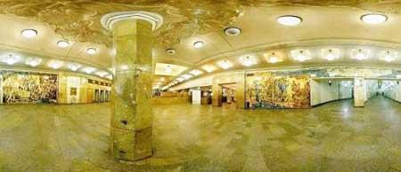 莫斯科地铁站(图)