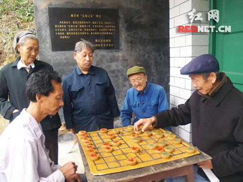 农村老人生活照