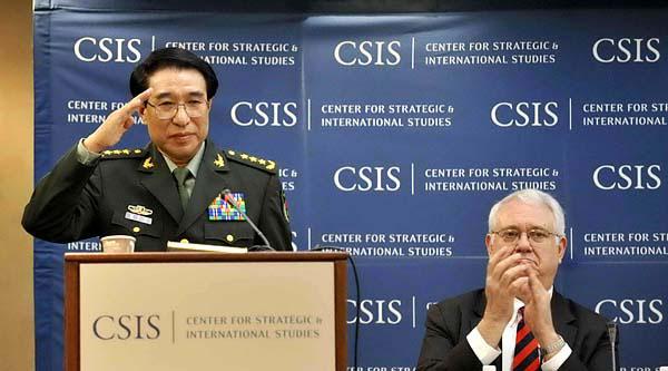 徐才厚美国演讲 重申中国奉行防御性国防政策