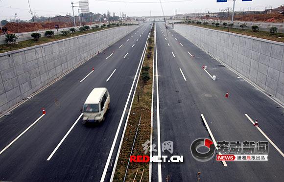 武广新长沙站周边配套道路全面完工