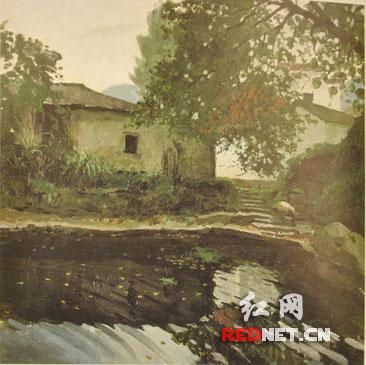 湖南小幅油画风景写生提名展开展 欣赏之余可求购