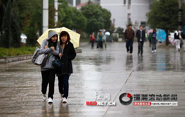 2月18日前湖南将维持低温阴雨雪天气