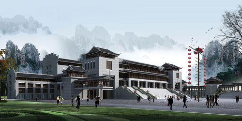 魅力湘西--新剧院设计图(组图)
