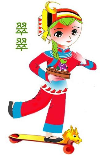 卡通小孩图片,卡通小孩玩耍的图片图片    (330x500); 搞笑卡通简笔画