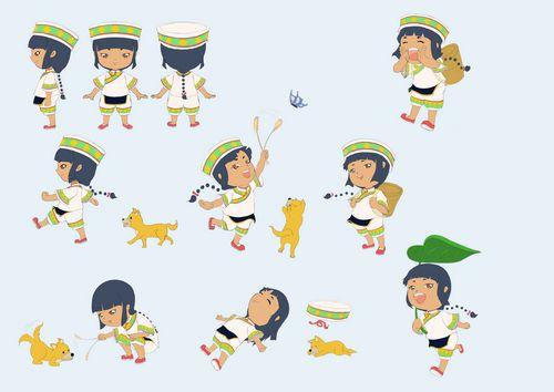卡通角色三视图 lol深海泰坦三视图 maya角色建模三视图 高清图片