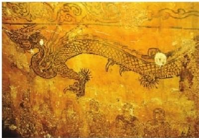 桂阳发掘宋代古墓 墓室壁画精美绝伦
