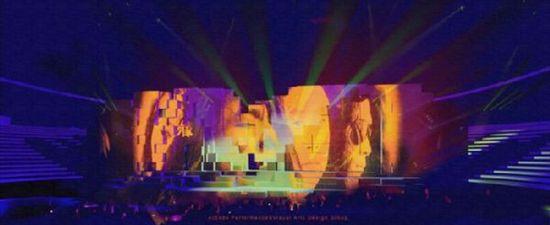 舞台音箱内部结构