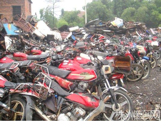 267辆摩托车(图)