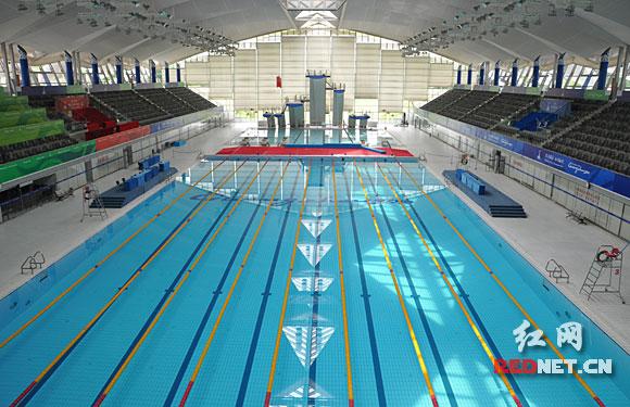 全国网络媒体亚运行:拳击游泳比赛准备就绪