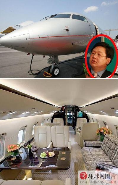 徐明豪华私人飞机曝光 2亿造价内部装饰超奢华