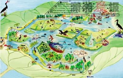 凤凰古城手绘地图下载