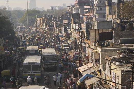 们心目中典型的印度城市街景.-外媒 印度确实已经崛起 超越中国或图片