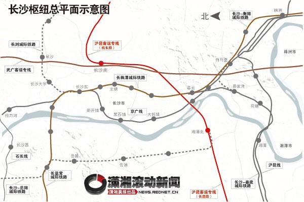 至曲靖铁路地图