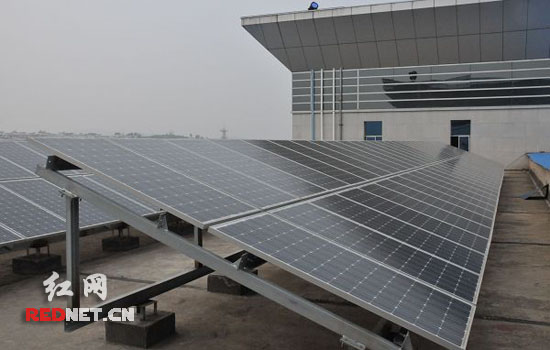永州首家太阳能光伏并网电站今年2月底试运行