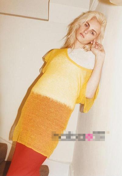 皮吉斯为最新一期时尚杂志《Zeit》拍写真,性感妩媚。